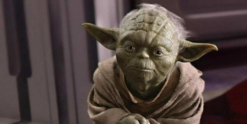He was the inspiration for Yoda.
