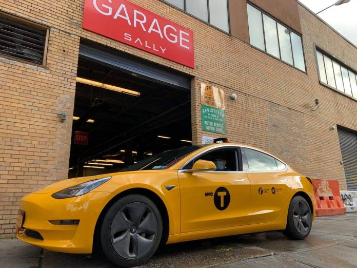 Tesla Model 3 Rapidly Becoming The Yellow Taxi Cab Of Choice In New York City