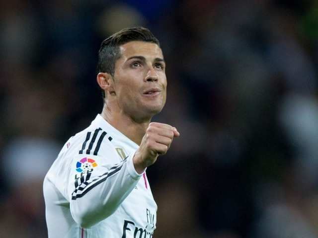 No. 1 Cristiano Ronaldo