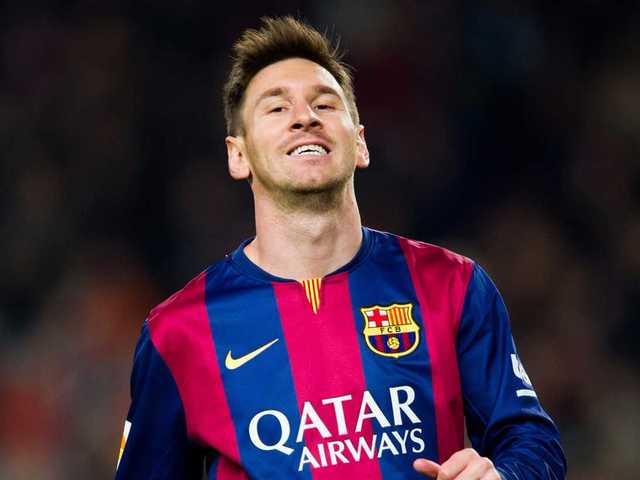 No. 3 Lionel Messi