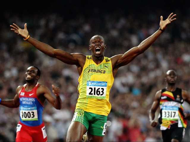 No. 14 Usain Bolt