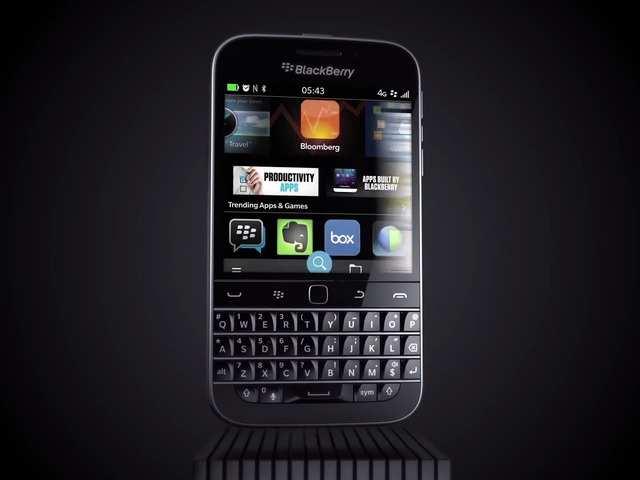 19. BlackBerry Classic