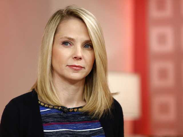 Marissa Mayer was a grocery-store clerk