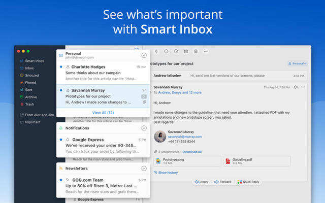 Spark is a better way to do email