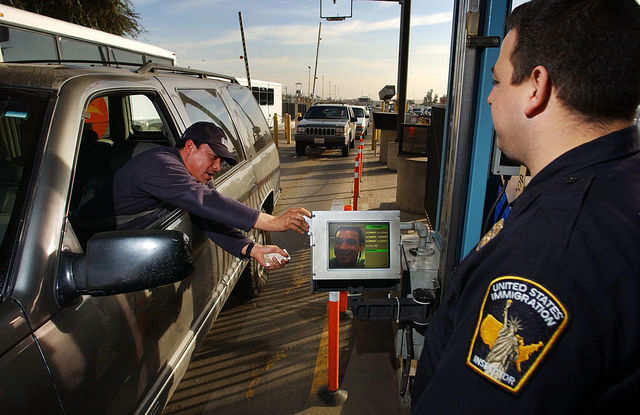 In the late '90s, inspection stations started using an automated program, called SENTRI, for pre-screened motorists to speed up the crossing process.