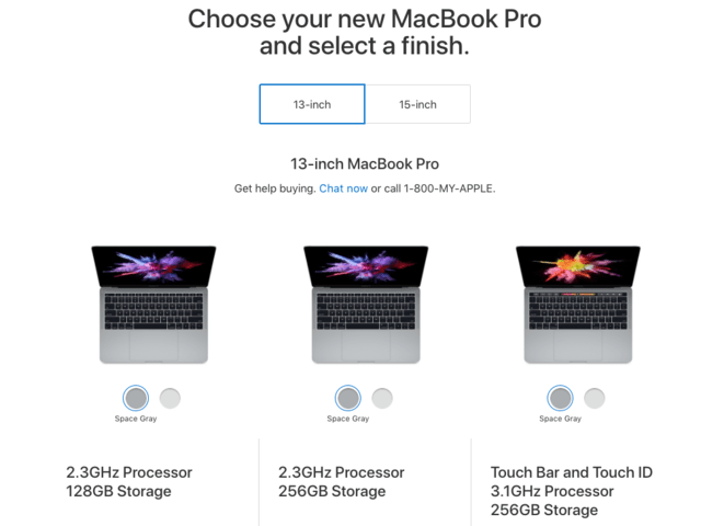 1. Macs are easier to buy.