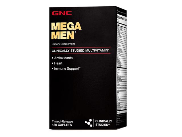 Gnc Mega Men Multivitamin