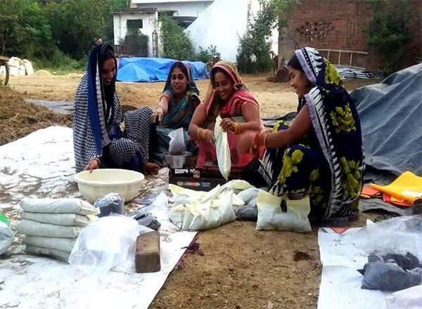 Farmer women of this village are earning millions by selling pesticides and organic manure