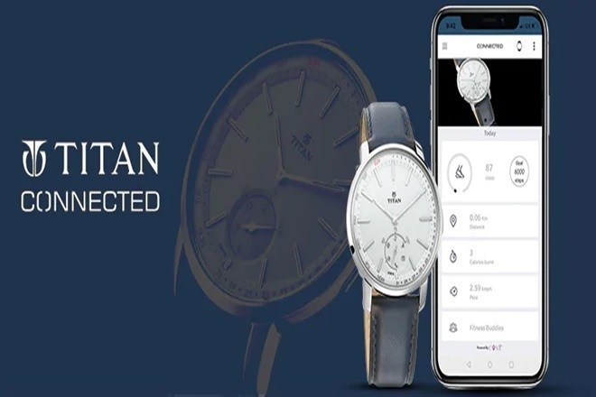 Titan Connected X Smartwatch