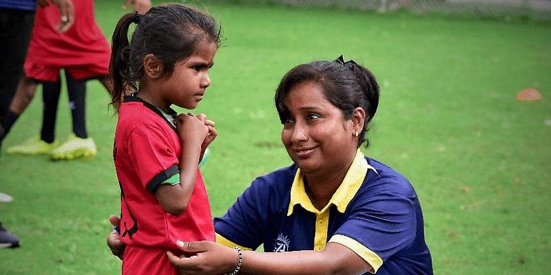Chandrakala is teaching both girls and boys equality through sports.