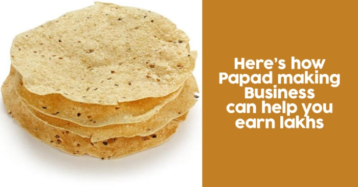 how to start a papad making business