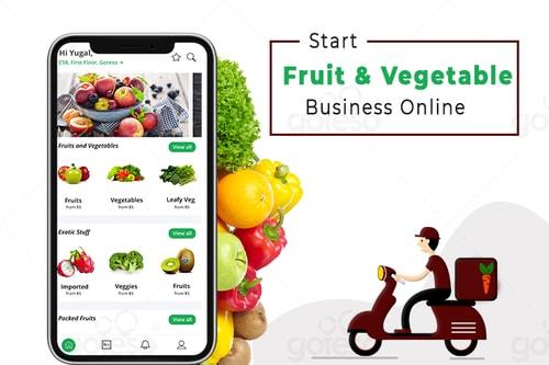 Mobile App For Vegetable