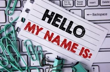 remembering names