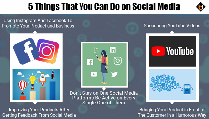 Things That You Can Do on Social Media