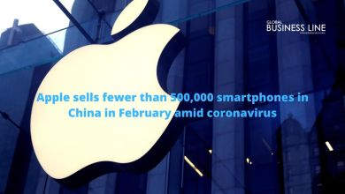 Photo of Apple sells fewer than 500,000 smartphones in China in February amid coronavirus