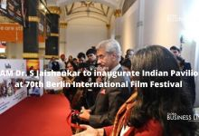 EAM Dr. S Jaishankar to inaugurate Indian Pavilion at 70th Berlin International Film Festival