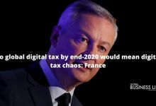 No global digital tax by end-2020 would mean digital tax chaos: France