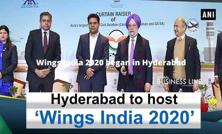 Wings India 2020 began in Hyderabad