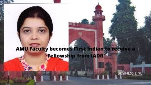 AMU Faculty becomes First Indian to receive a Fellowship from IADR