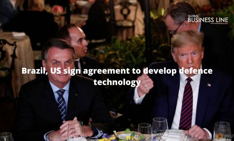 Brazil, US sign agreement to develop defence technology