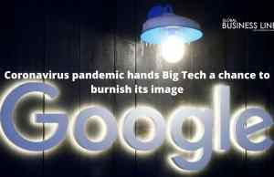 Coronavirus pandemic hands Big Tech a chance to burnish its image