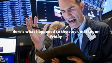Photo of Here's what happened to the stock market