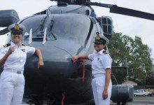 Two women officers to operate helicopters from Indian Navy warships - First time in Indian History