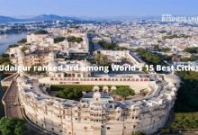 Udaipur ranked 3rd among World's 15 Best Cities