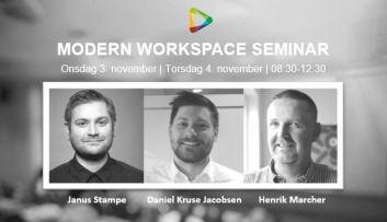 Seminar – Modern Workspace