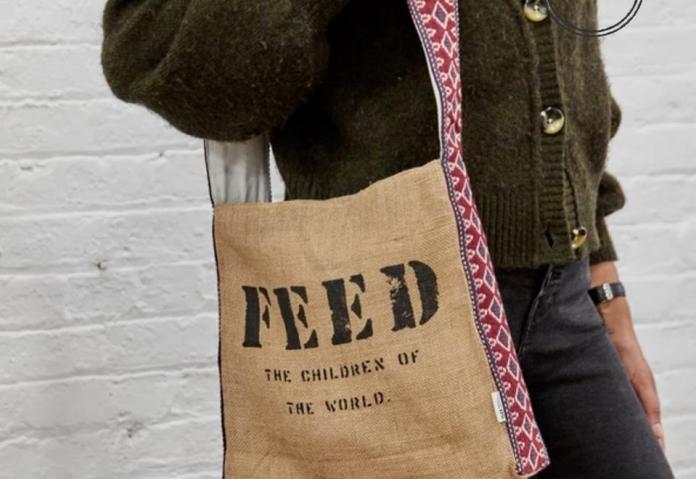 Artisan Messenger Bag from FEED.