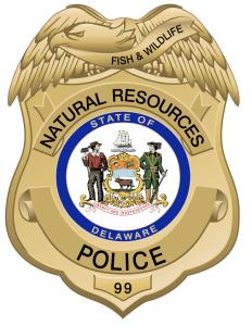 Picture of the DNREC Fish & Wildlife Police Shield