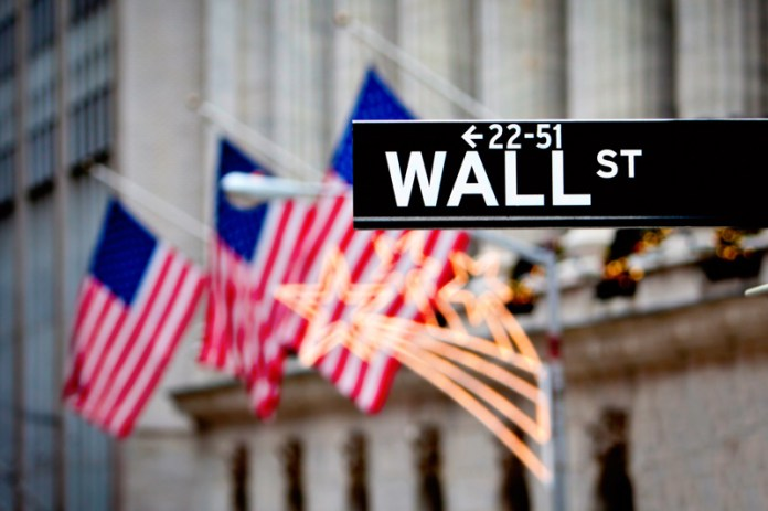 U.S. shares lower at close of trade; Dow Jones Industrial Average down 1.69%