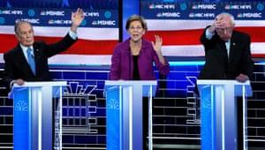 bloomberg at debate