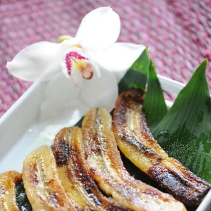 Bananes flambees au rhum