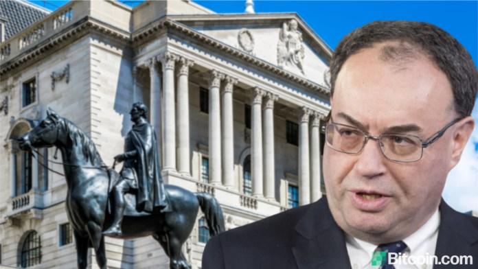 Bank of England Governor Warns Cryptocurrencies Won't Last