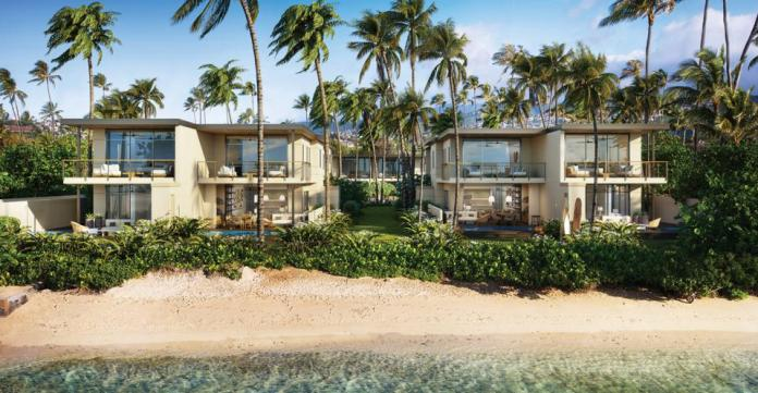 proposed townhouse development on hunakai beach  4607 Kahala Avenue - Oahu, Hawaii