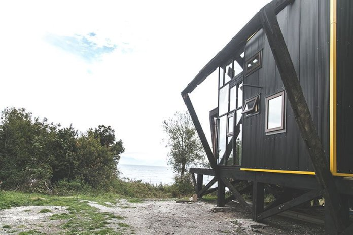 the newest zerocabin inspires visitors to live simply and use zero fossil fuels