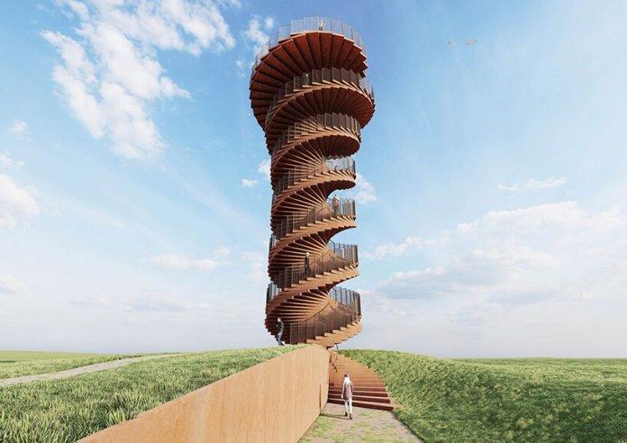 bjarke ingels marsk watchtower