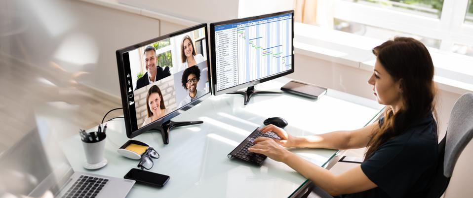 One surprising action when you're in an online video conference will reduce your fatigue.