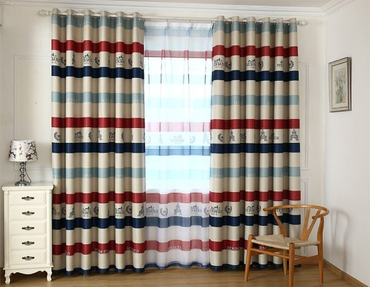 Texture or Patterns on Curtains