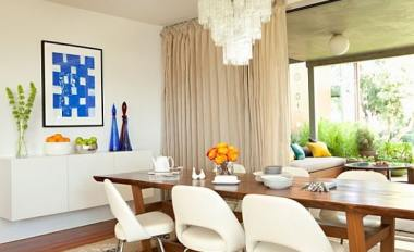 white dining room with modern elements c70b0202