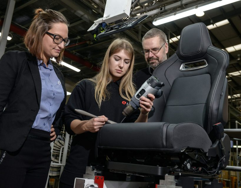 Automotive firm drives forward with national apprenticeship scheme