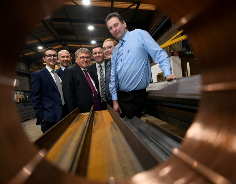 Manufacturing firm announces MBO of building fabrication side of business