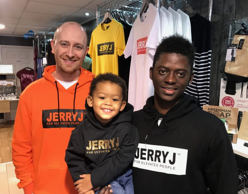 Young student launches street fashion brand inspired by his son