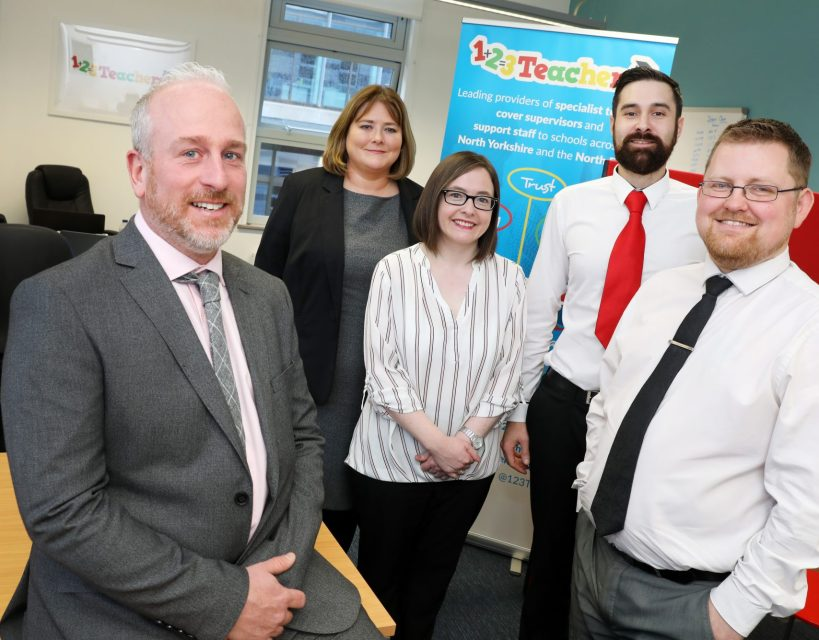 Education recruitment company adds to its team after period of growth