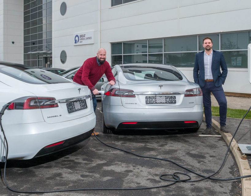 Company has foot on the GAS as it launches electric vehicle partnership