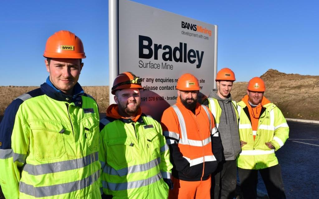 Banks Mining recruits young talent with the appointment of five apprentices