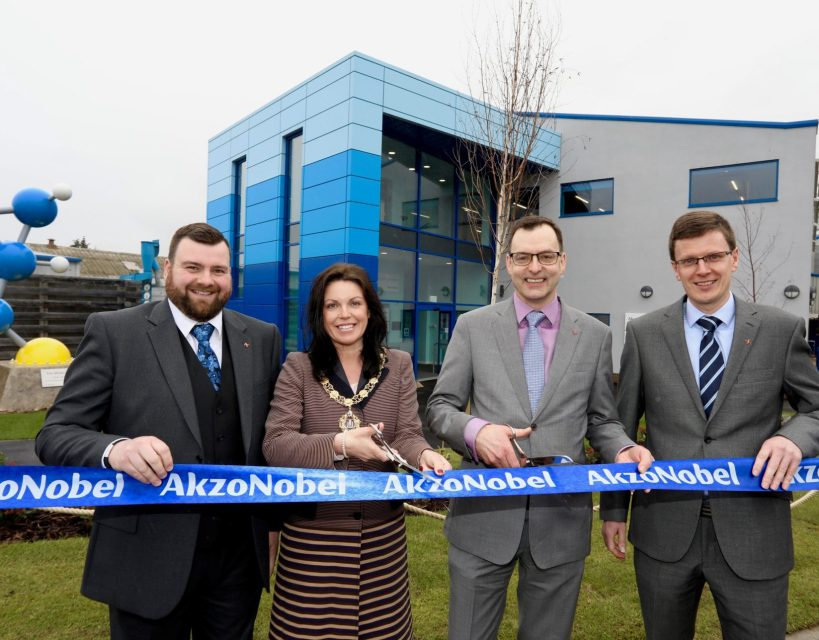 Paint manufacturer AkzoNobel opens innovative research campus
