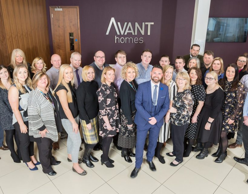 Avant Homes named as one of the top 30 places to work in the North East