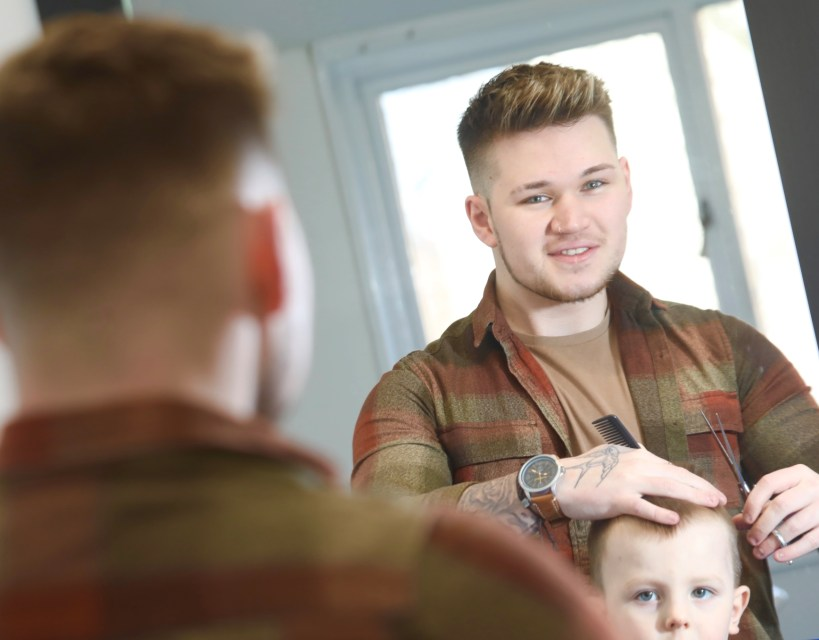 Barbering apprentice is a cut above as college rolls out successful course